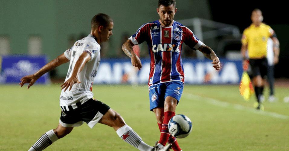 Bahia empatou com Botafogo-PB e garantiu vaga na semifinal da Copa do Nordeste