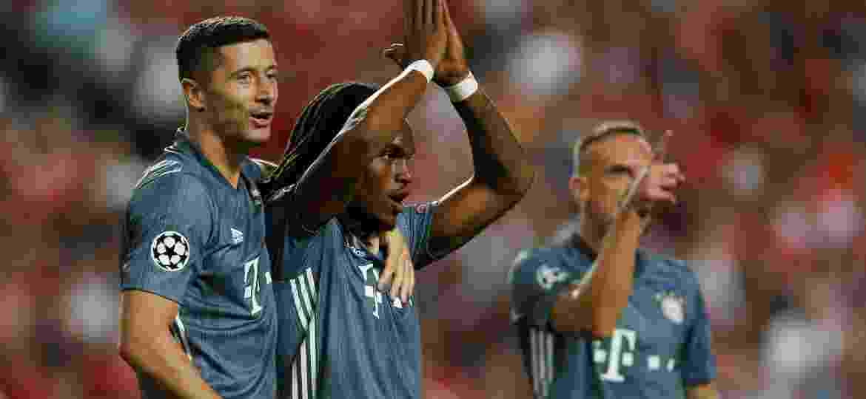Revelado pelo Benfica, Renato Sanches decretou o placar favorável ao Bayern de Munique - Pedro Nunes/Reuters
