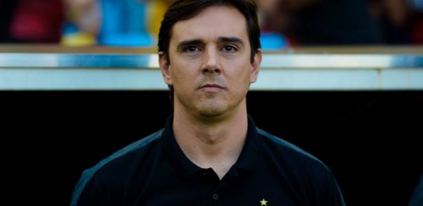 Técnico Thiago Larghi comanda o Atlético-MG contra o Flamengo no Brasileirão - Thiago Ribeiro/AGIF
