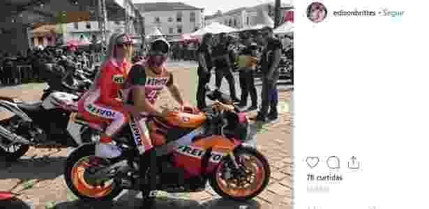 Juninho Riqueza e a mulher Cristiana Brittes estão presos pela morte de Daniel - Reprodução/Instagram