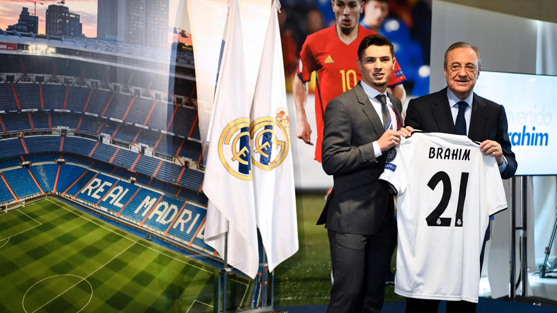 Brahim Diaz Manchester City Real Madrid apresentação
