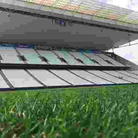Gramado da Arena Corinthians - Arena Corinthians/Divulgação