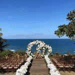 Detalhes de decoração do casamento de Kaká com Carol Dias em Itacaré, na Bahia - Reprodução/Instagram