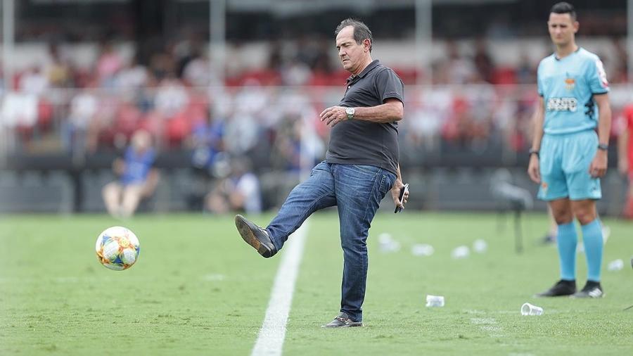 Muricy Ramalho foi o técnico do São Paulo na Legends Cup - Paulo Pinto/saopaulofc.net
