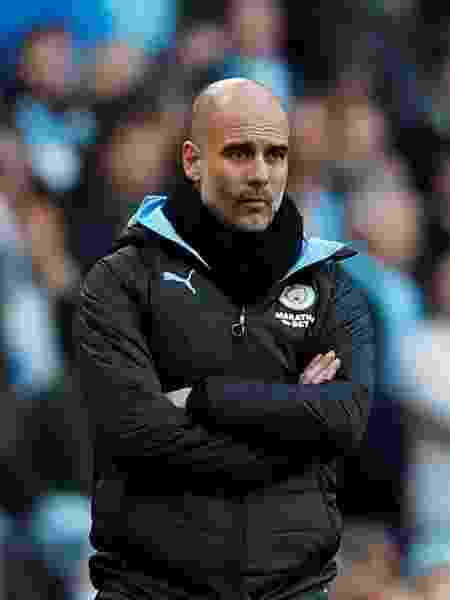 O técnico Pep Guardiola  - Lee Smith/Action Images via Reuters