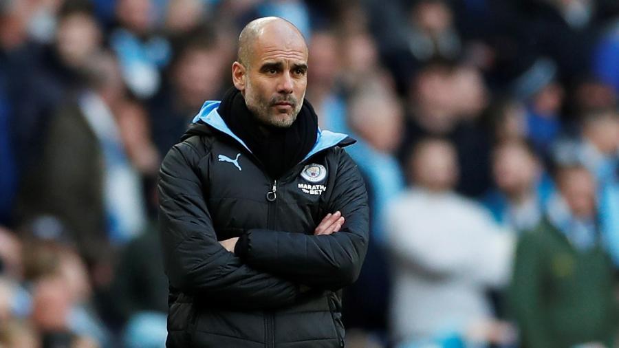 O técnico Pep Guardiola está no comando do City desde 2016 e pode assinar novo vínculo em breve - Lee Smith/Action Images via Reuters