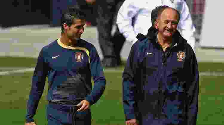 Luiz Felipe Scolari foi técnico da seleção portuguesa - Getty Images - Getty Images