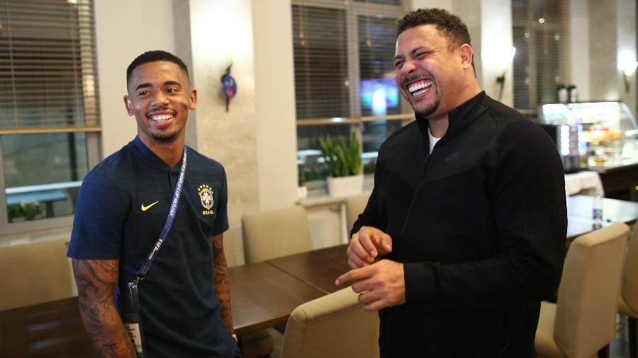 Gabriel Jesus vira sócio de Ronaldo na R9, empresa de gestão financeira - Lucas Figueiredo/CBF
