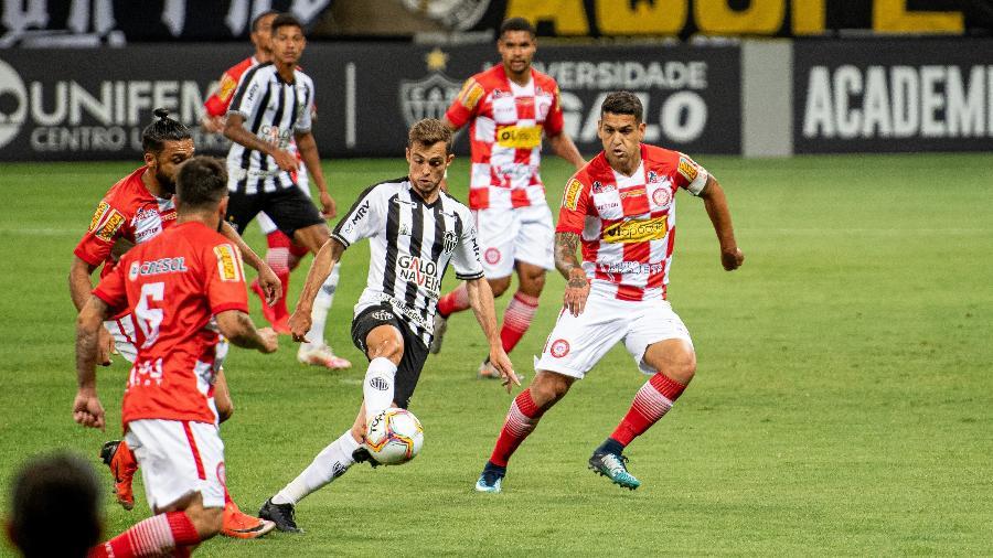 Atlético-MG e Tombense foram os finalistas da edição passada do Campeonato Mineiro, na qual o Galo levou a melhor - Alessandra Torres/AGIF