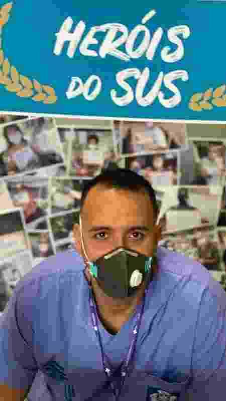 Rubens Martinelli, herói do SUS - Arquivo pessoal - Arquivo pessoal