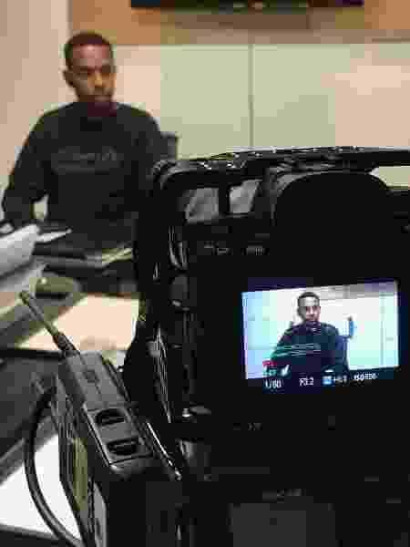 Robinho concede entrevista ao UOL - Marcelo Ferraz/UOL - Marcelo Ferraz/UOL