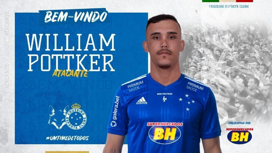 Willian Pottker foi contratado após solicitação de Felipão à diretoria do Cruzeiro - Divulgação