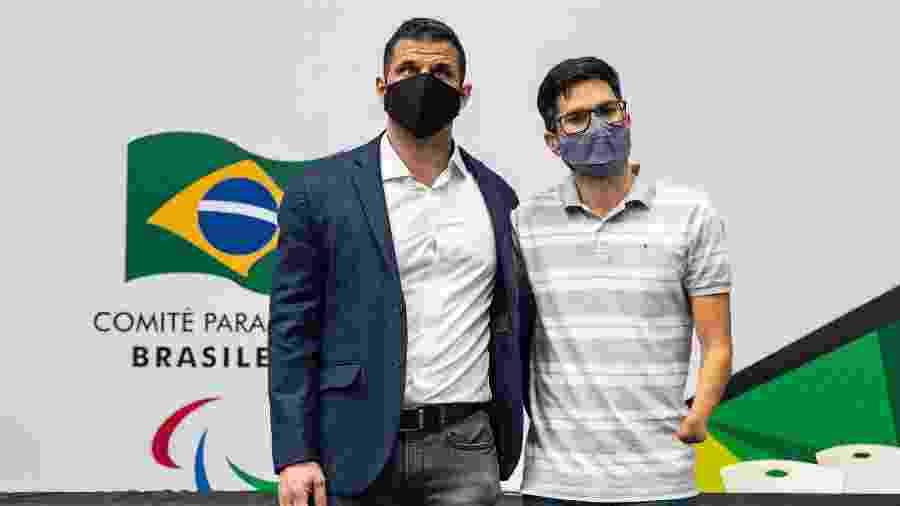 Mizael Conrado e Yohansson Nascimento - Ale Cabral/CPB