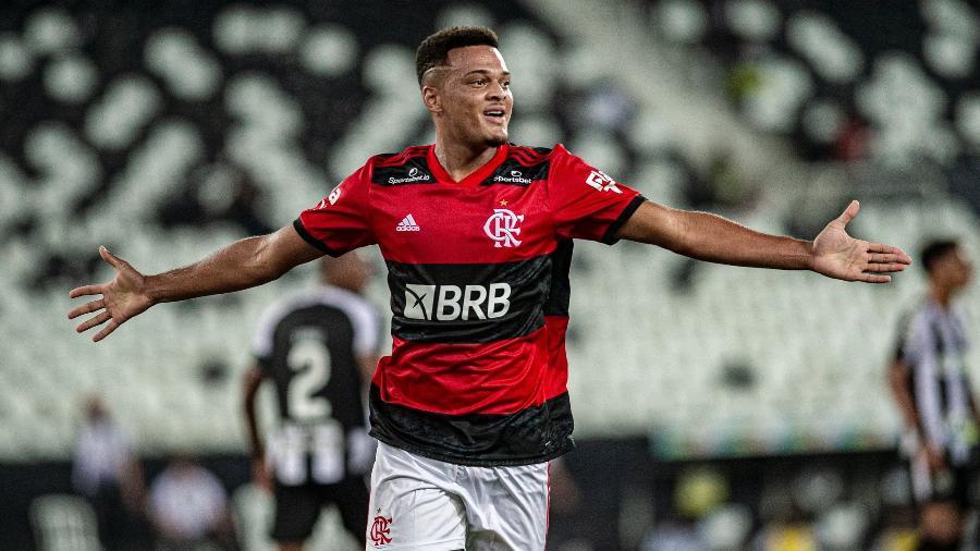 Rodrigo Muniz é vice-artilheiro do Brasileirão, com três gols -  Marcelo Cortes / Flamengo
