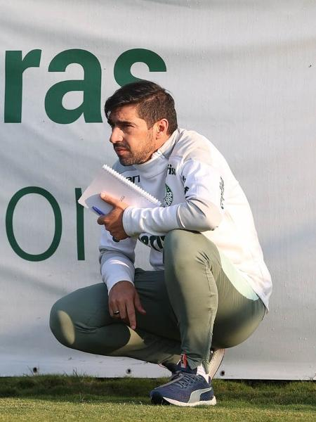 Abel Ferreira comanda o Palmeiras em treino na Academia de Futebol - Cesar Greco