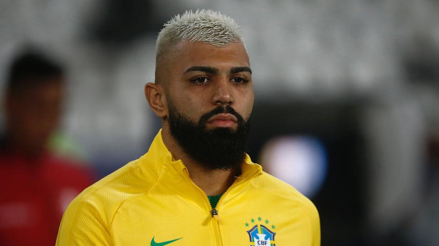 Gabigol retomou a titularidade da seleção brasileira após ficar no banco na estreia da Copa América - Wagner Meier/Getty Image