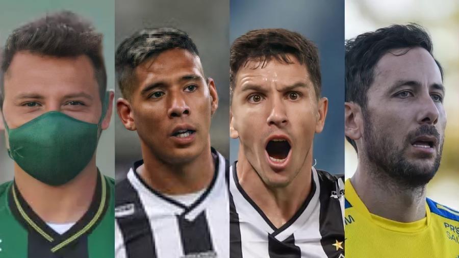 Quatro jogadores argentinos dos clubes de BH torcerão contra a seleção brasileira neste domingo - América-MG, Atlético-MG, Cruzeiro/Divulgação