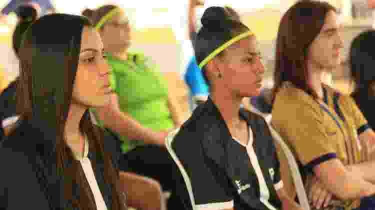 Apresentação das atletas do time feminino do FV4, do lateral Victor Ferraz - Bianca Serrano/VF4 - Bianca Serrano/VF4