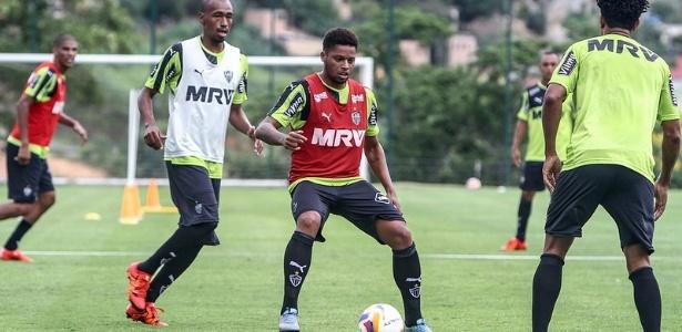 André se apresentou ao Atlético-MG e treinou normalmente na Cidade do Galo