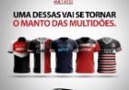 Santa Cruz terá camisa desenhada por sócio na Copa NE. E votação já começou (Foto: Divulgação/Twitter oficial do Santa Cruz)