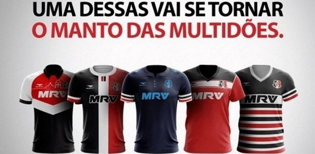 Camisa que ganhar votação será utilizada pelo Santa Cruz na Copa do Nordeste