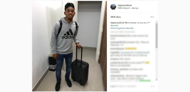No Instagram, atacante do Palmeiras prometeu retorno no domingo