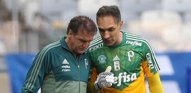 Fernando Prass voltará a ser o titular de Cuca neste domingo
