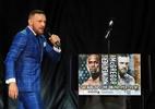 Canal da TV americana nega ter cortado microfone de McGregor de propósito