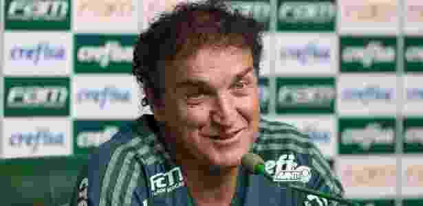 Cuca evitou apontar a torcida para um dos rivais no clássico do fim de semana - Cesar Greco/Ag. Palmeiras
