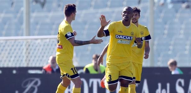 Samir (ao centro) joga atualmente na Udinese - Gabriele Maltinti/Getty Images