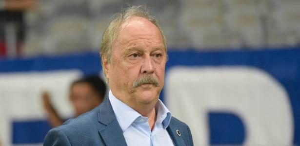 Wagner Pires de Sá, presidente do Cruzeiro, foi quem firmou acordo com o BMG