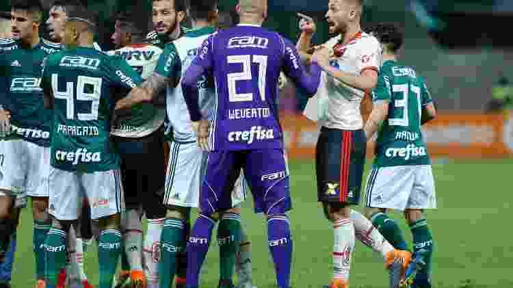 Palmeiras x Flamengo - Marcello Zambrana/AGIF - Marcello Zambrana/AGIF