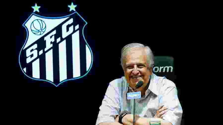 Modesto Roma, ex-presidente do clube da Vila Belmiro - Ivan Storti/Santos FC
