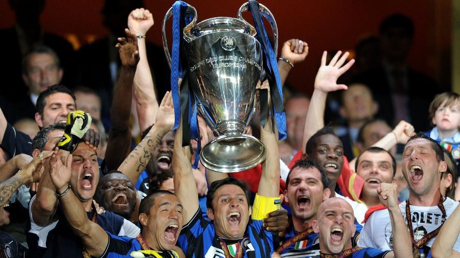 Inter de Milão conquistou Champions em 2010 - AFP PHOTO / CHRISTOPHE SIMON