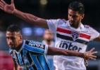 """Volante do Grêmio valoriza empate e lamenta falha em gol contra """"Acontece"""" - Ale Cabral/AGIF"""