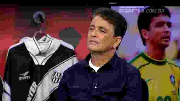 bebeto - reprodução/ESPN Brasil - reprodução/ESPN Brasil