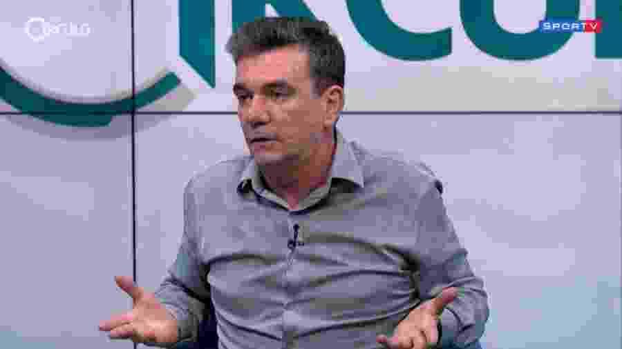 """Andrés Sanchez concedeu entrevista ao programa """"Grande Círculo"""", do Sportv - Reprodução"""