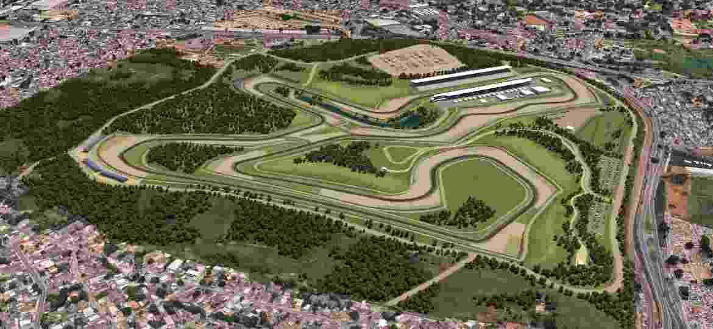 Projeto do Autódromo em Deodoro - Divulgação