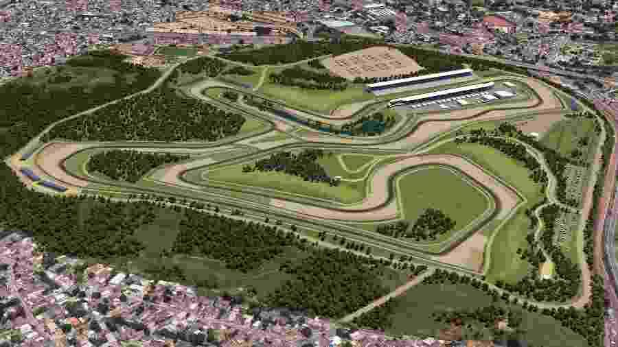 Autódromo Deodoro Rio de Janeiro - Divulgação