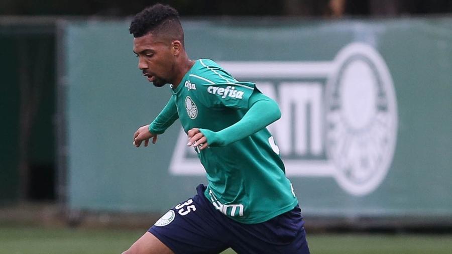 Matheus Fernandes, volante do Palmeiras - Cesar Greco/SE Palmeiras