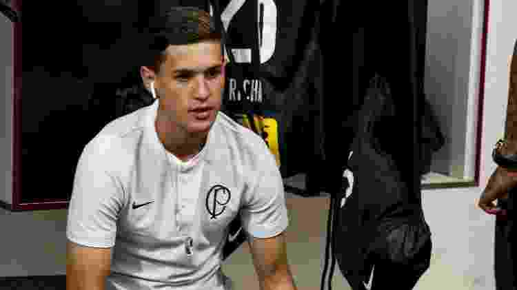 Mateus Vital - Rodrigo Gazzanel/Agência Corinthians - Rodrigo Gazzanel/Agência Corinthians