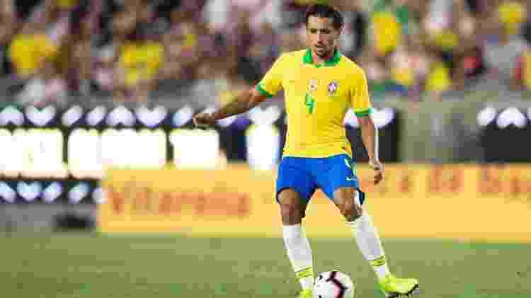 Marquinhos saiu incomodado com a própria atuação contra a Colômbia, mas se recuperou - Lucas Figueiredo/CBF