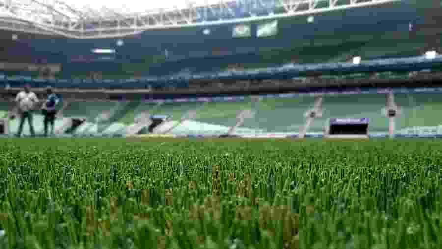 Allianz Parque e Palmeiras abriram a arena nesta quarta-feira (12) para a imprensa - José Edgar de Matos/UOL Esporte