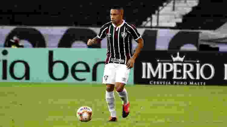 Wellington Silva voltou ao Fluminense em 2020; jogador está próximo de renovar contrato - Mailson Santana/Fluminense FC - Mailson Santana/Fluminense FC