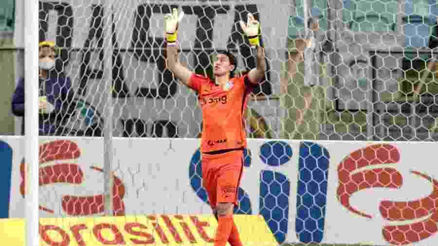 Goleiro Cássio desabafa após vitória do Corinthians contra o Bahia na Neo Química Arena - Fotos: Rodrigo Coca/Agência Corinthians