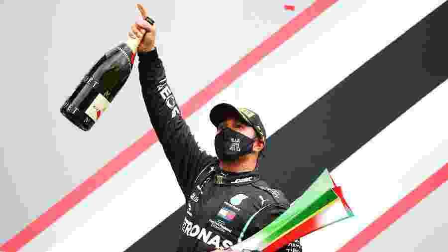 Lewis Hamilton é o campeão do GP de Portugal - Joe Portlock/Getty Images