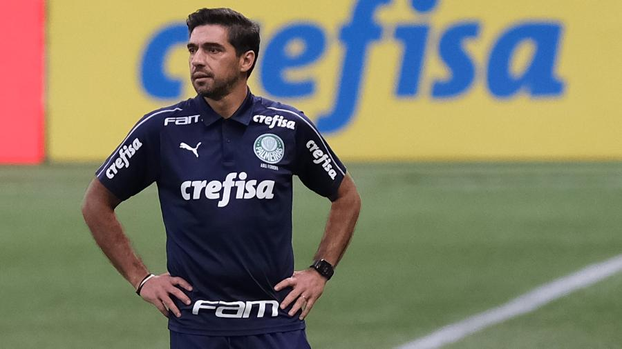Abel Ferreira, técnico do Palmeiras, campeão da Copa do Brasil 2020 - Marcello Zambrana/AGIF