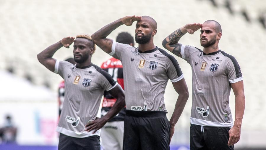 Ceará vence o Vitória pela Copa do Nordeste: clube está na final da competição com o Bahia - Stephan Eilert / Ceará SC