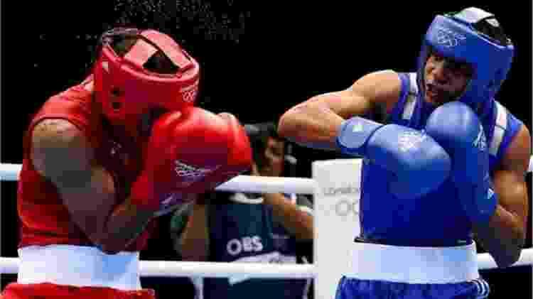 Verdejo (à direita) lutou nas Olimpíadas de 2012 - Getty Images - Getty Images