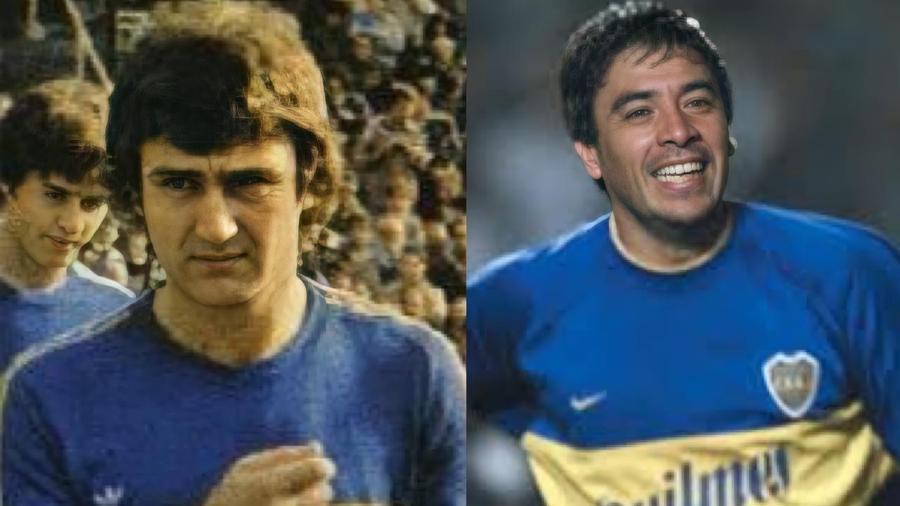 Ribolzi e Basulado foram campeões da Libertadores pelo Boca e sabem bem o peso da camisa dos Xeneizes - Reprodução